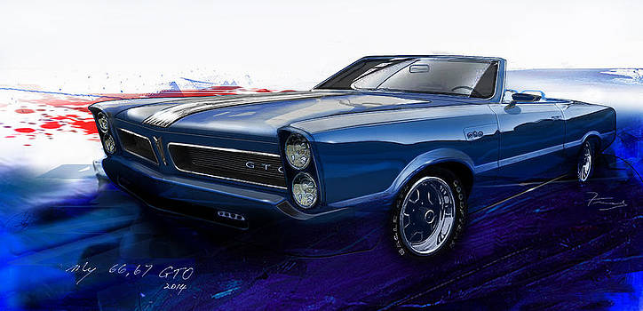 GTO design art by Fred Otene