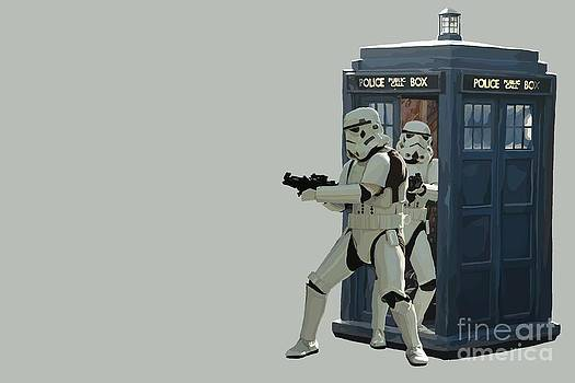 163. Inform Lord Vader we have the Tardis by Tam Hazlewood