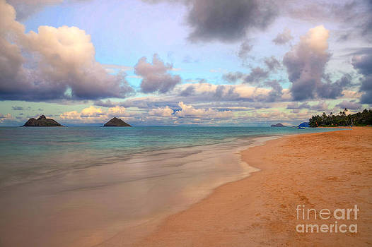 Island Sunset by Kelly Wade