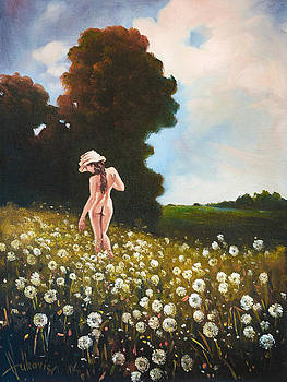 It's time dandelions by Dusan Vukovic