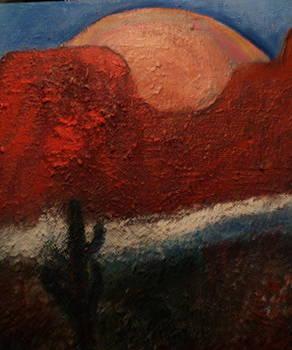 Anne-Elizabeth Whiteway -   Peachy  Southwest Moon