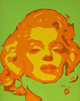 Marilyn Monroe  by Dennis Nadeau
