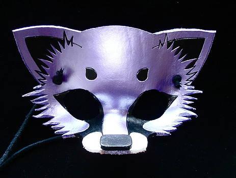 Metallic Purple Fox by Fibi Bell