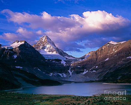 Mt. Assiniboine at Magog Lake by Tracy Knauer