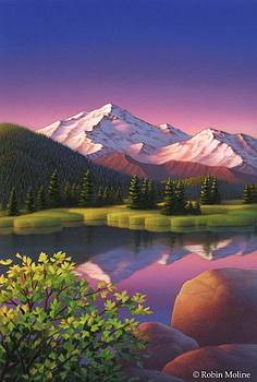 Pastel Mountain by Robin Moline