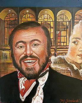 Pavarotti and the Ghost of Lincoln Center by Melinda Saminski