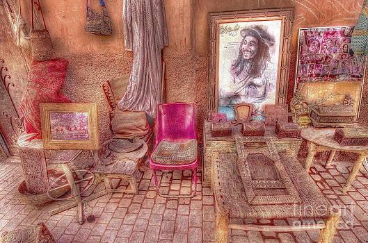 Rasta King at Marakech by George Paris