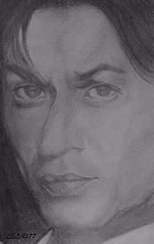 Shah Rukh Khan by Lela Gambarashvili