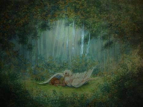 Spiritual  Transition -Wings of Joy by Beth Arroyo