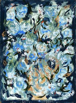 Swirly Blue by Carole Goldman