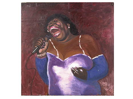 The blues singer by John Sibley