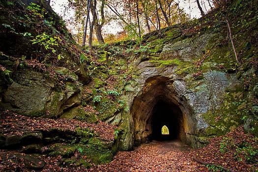 The Ohio Electric Interurban Tunnel  by Victoria Winningham