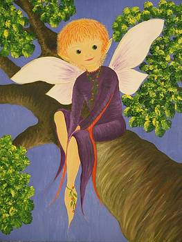 The tree fairy by Jilly Curtis