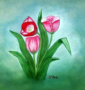 Three Tulips by Tammy McClung