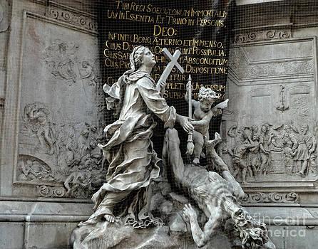 Gregory Dyer -  Vienna Austria - Plague Monument