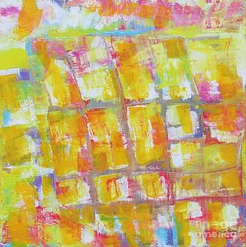 Yellow Puzzle by Nereida Rodriguez