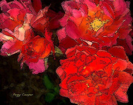 001 Reds by Peggy Cooper