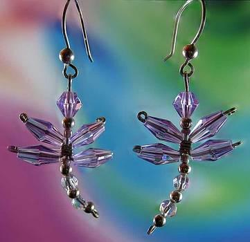 Dianne Brooks - 0817 Lavender Dragonfly