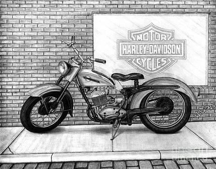 1964 Harley Pacer by Chris Wiley