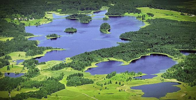 Aerial Lakes by Bjoern Kindler