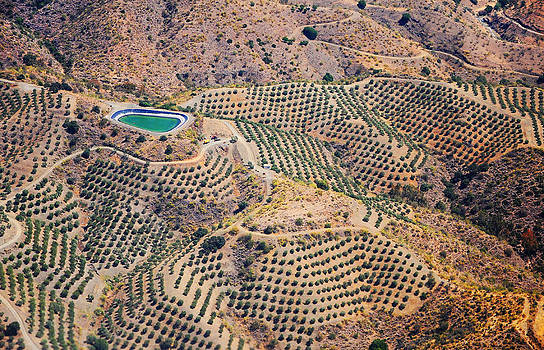 Jenny Rainbow - Aerial View of Andalusia. Spain
