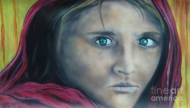 Afghan Girl by Colin O neill