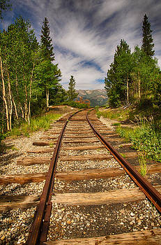 Along Boreas Pass by Christopher L Nelson