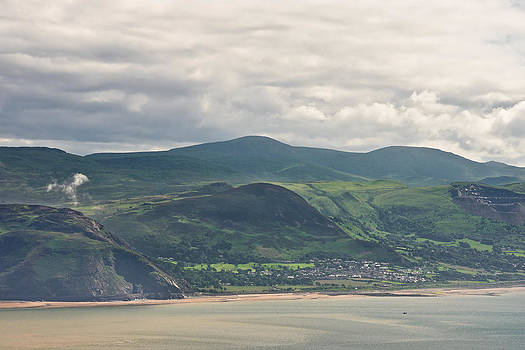 Anglesey from the Great Orme by Jane McIlroy