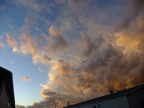 Angry Sky by Rose Szautner