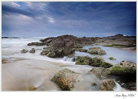 Anna Bay Sunset by Steve Caldwell