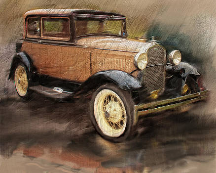 Mary Almond - Antique Car