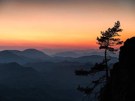 At the end of the day by Davorin Mance