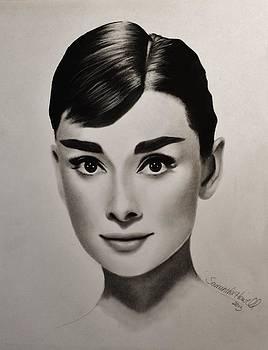 Audrey Hepburn by Samantha Howell