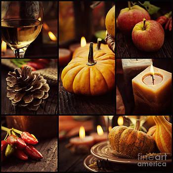 Mythja  Photography - Autumn dinner collage