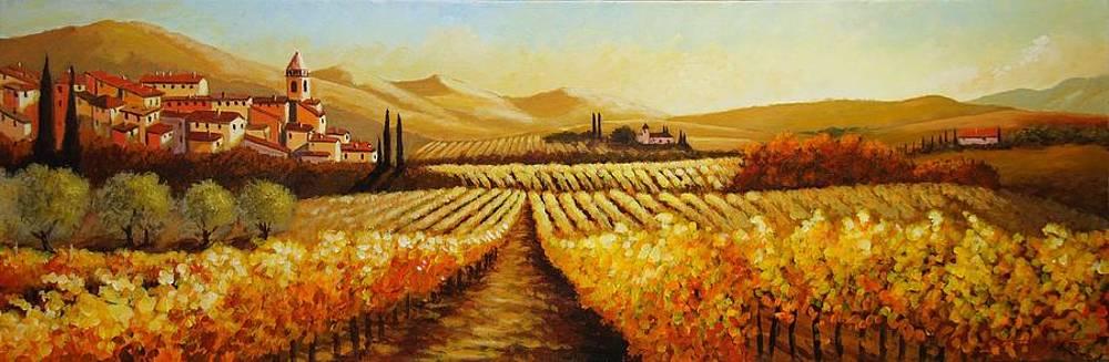 Autumn Harvest by Santo De Vita