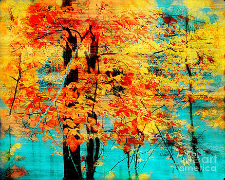 Autumn tapestry by Gina Signore