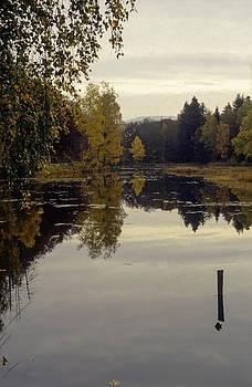 Autumnal landscape by Patrick Kessler