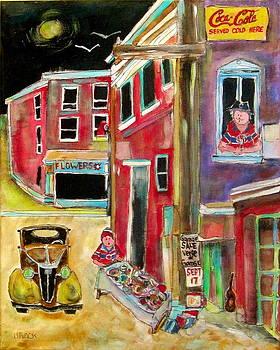 Back Lane Garage Sale by Michael Litvack