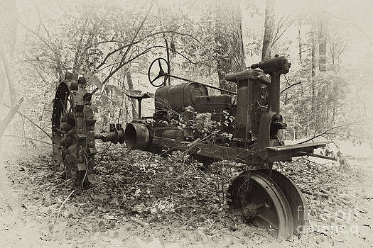 Barksdale tractor by Russell Christie