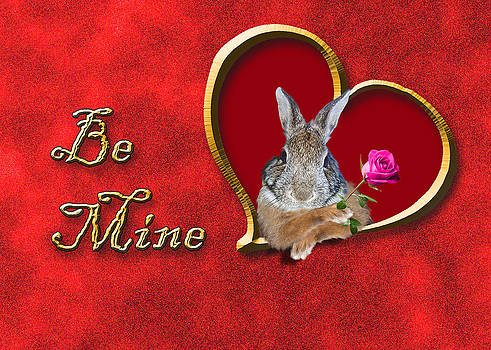 Jeanette K - Be Mine Bunny Rabbit