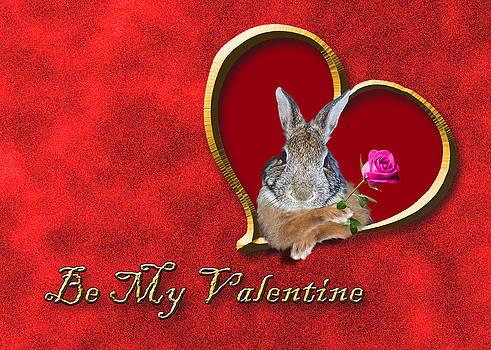 Jeanette K - Be My Valentine Bunny Rabbit
