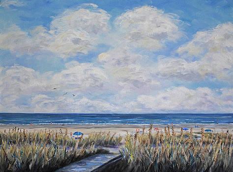 Beach Day by Stanton Allaben