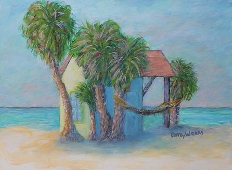 Beach Hut by Patty Weeks