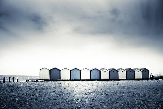 Beach Huts by Dorit Fuhg