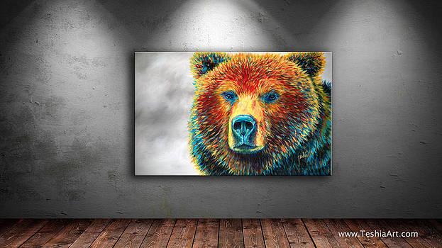 Teshia Art - Bear Thoughts Display Image