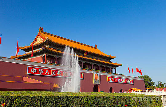 Fototrav Print - Beijing Tiananmen Gate China