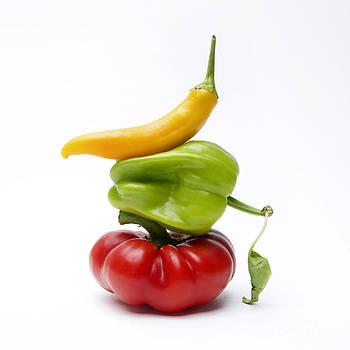 BERNARD JAUBERT - Bell Peppers and Tomatoes