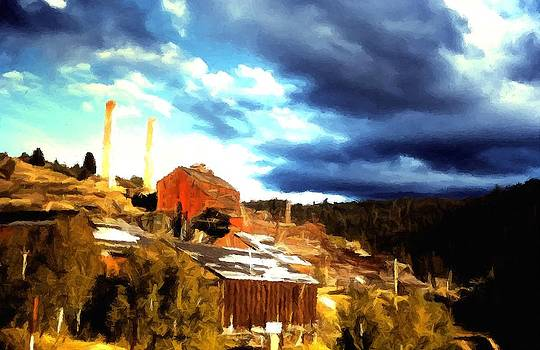 Bi-Metallic Mill Philipsburg Montana by Kevin Heaney
