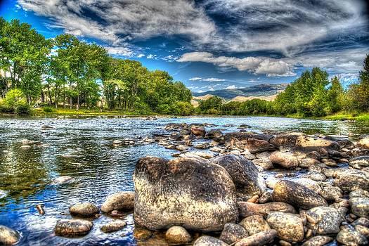 Big Hole River Divide Mt by Kevin Bone