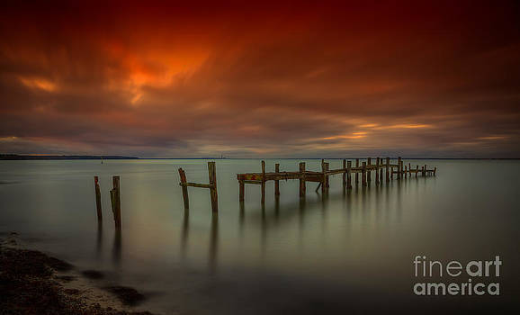 English Landscapes - Binstead Hard Jetty